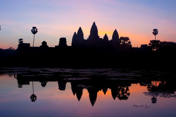 Angkor wat, located in Cambodia - home of the CamboFest international film festival